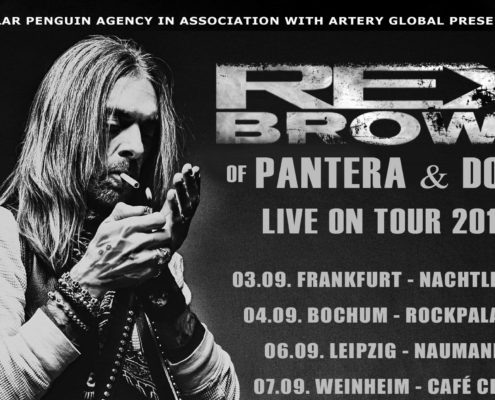 Smoke On This Tour - Germany 2017 - Rex Brown