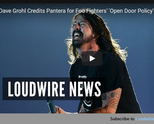 Dave Grohl Credits Pantera For Foo Fighters´ ´Open Door Policy´