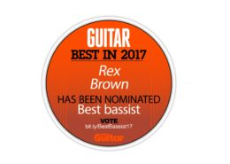 Music Radar 2017 Best Bassist Nomination