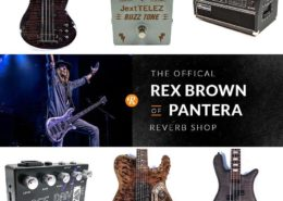 Rex Brown Official Reverb Shop